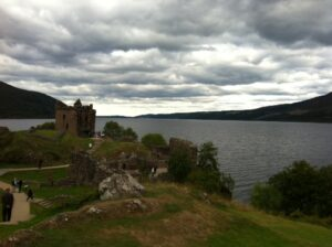 Loch Ness and Castle Urquhart