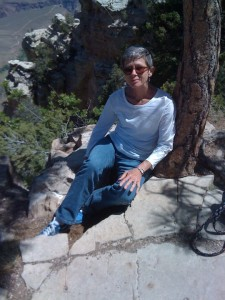 Dr. Gail C. Polk, Ph.D.  at the Grand Canyon
