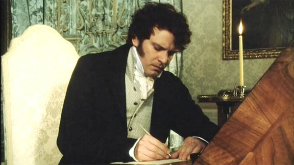 how to write a letter like mr darcy