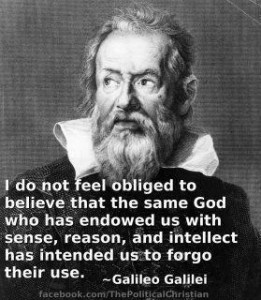 Galileo use quote