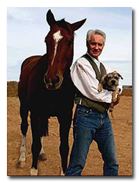 Dr. Patton, world renowned animal nutritionist, pictured with colleagues