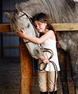 blog girl and horse