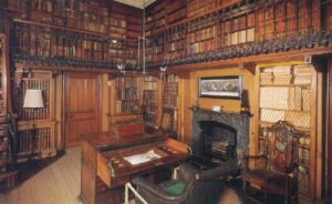 Sir Walter Scott's Work Space