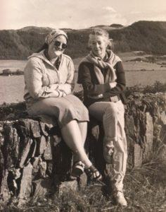 Mom and I, Ireland, 1981